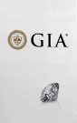 0,33 ct. TW-F if, GIA
