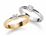 Solitaire Ring 0,30 ct.
