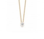 Brillant Solitaire Collier 0,30 ct.